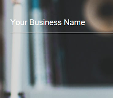 Show Your Business Name